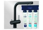 Комплект смеситель Blanco Fontas II (антрацит) + BWT Барьер Expert Standart